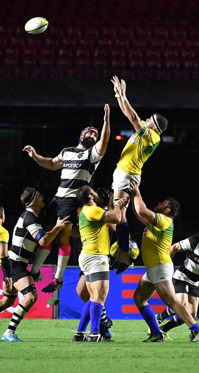 Relatório da pesquisa de perfil de público no Rugby Brasil x Barbarians
